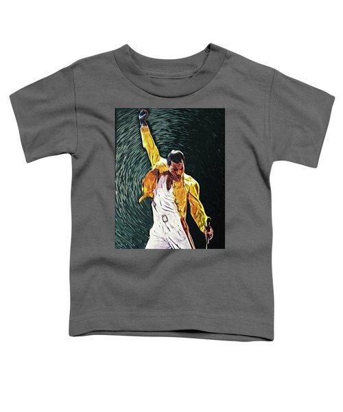 Freddie Mercury Toddler T-Shirt
