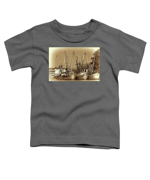 Georgetown Shrimpers Toddler T-Shirt by Bill Barber