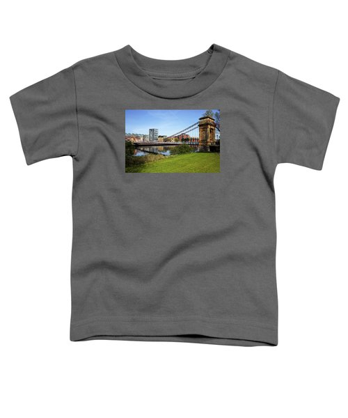 Toddler T-Shirt featuring the photograph Glasgow by Jeremy Lavender Photography