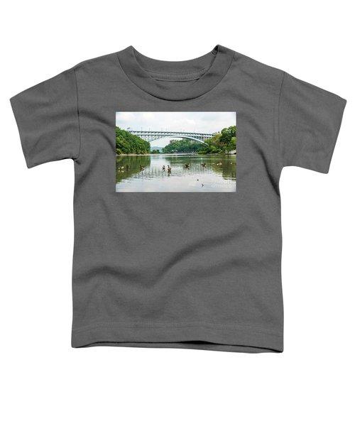 Henry Hudson Bridge Toddler T-Shirt