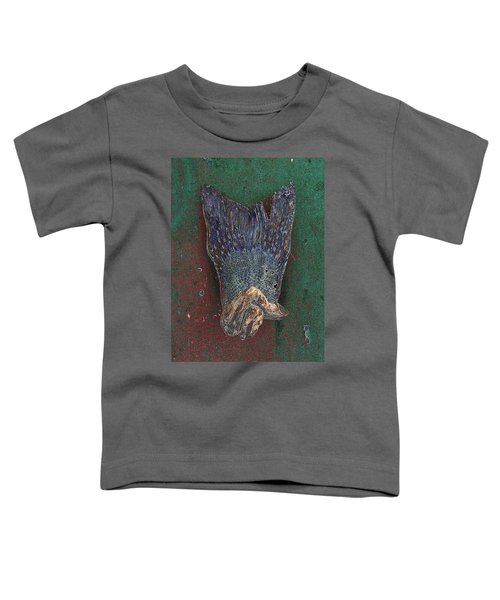 Her Dress Flew Up When She Crossed Her Legs. Toddler T-Shirt