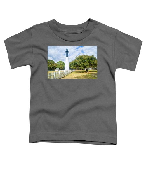 Hunting Island Lighthouse Toddler T-Shirt