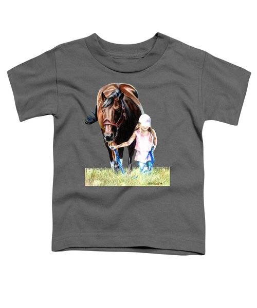 Just A Girl And Her Horse  Toddler T-Shirt