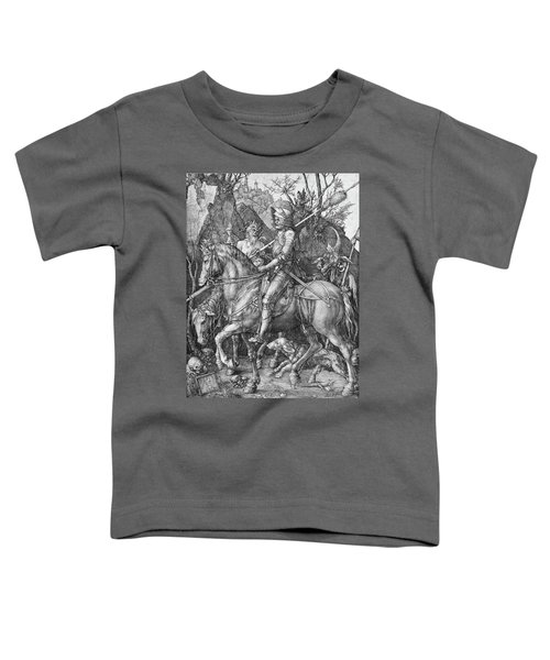 Knight Death And The Devil Toddler T-Shirt