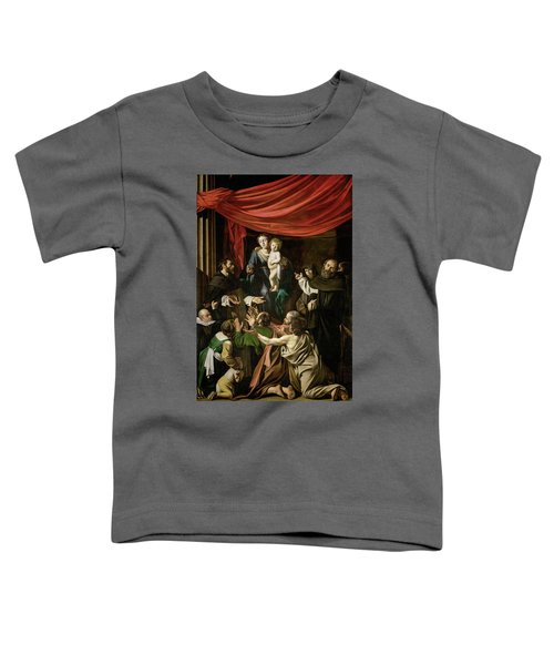 Madonna Of The Rosary Toddler T-Shirt