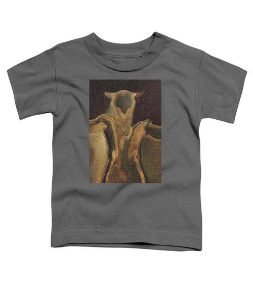 Minotaur  Toddler T-Shirt by Quim Abella