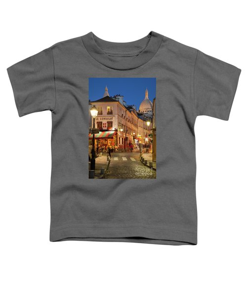 Montmartre Twilight Toddler T-Shirt