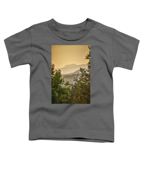 Mountains In The Distance Toddler T-Shirt