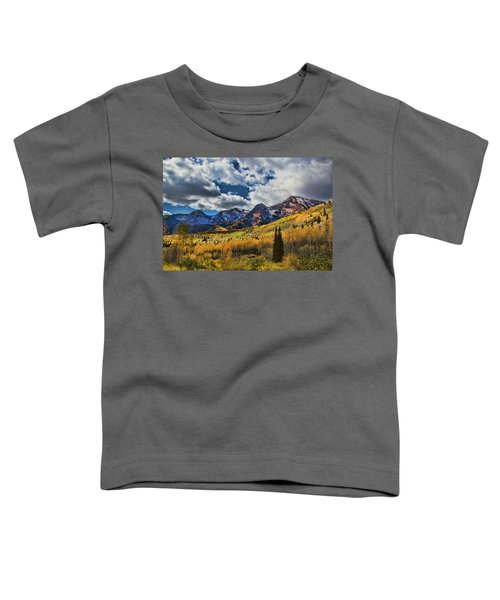 Rocky Mountain Fall Toddler T-Shirt