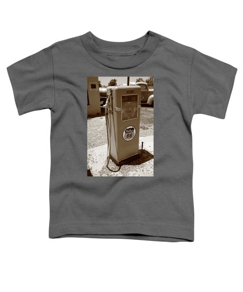 Route 66 Gas Pump Toddler T-Shirt