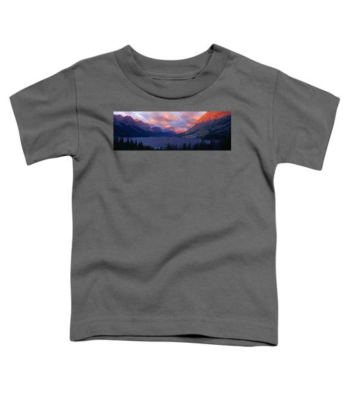 St. Mary Lake, Glacier National Park Toddler T-Shirt