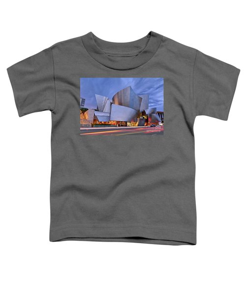 Sunset At The Walt Disney Concert Hall In Downtown Los Angeles. Toddler T-Shirt
