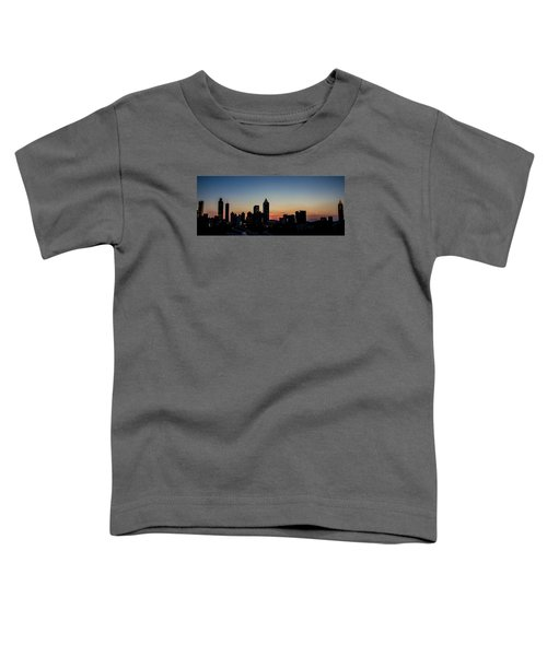 Sunset In Atlanta Toddler T-Shirt