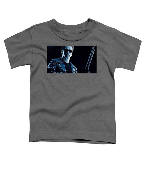 Terminator 2 Judgment Day Toddler T-Shirt