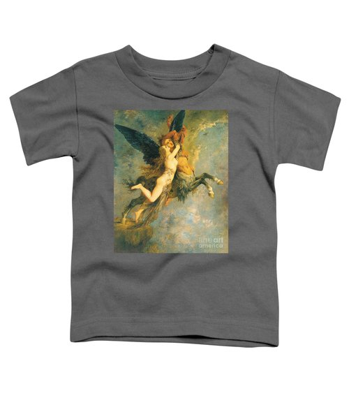 The Chimera Toddler T-Shirt by Gustave Moreau
