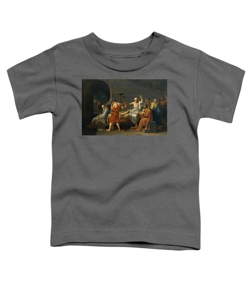The Death Of Socrates Toddler T-Shirt