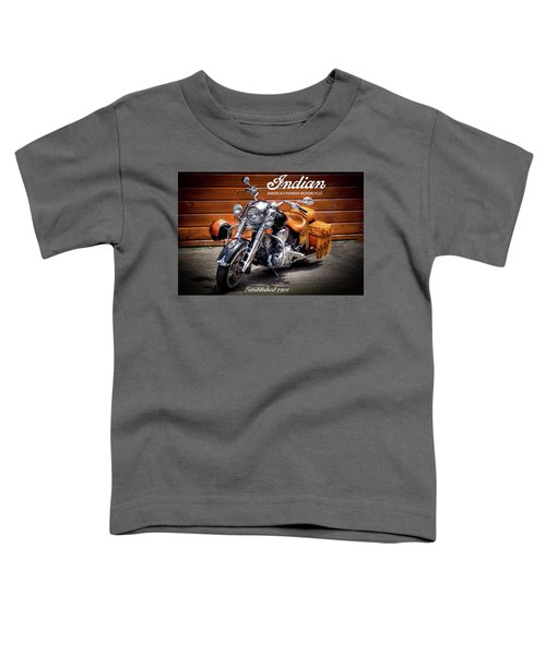 The Indian Motorcycle Toddler T-Shirt