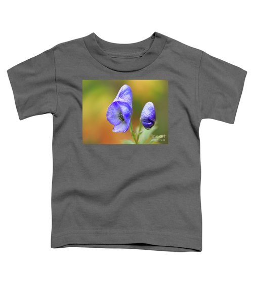 Wolf's Bane Flower Toddler T-Shirt