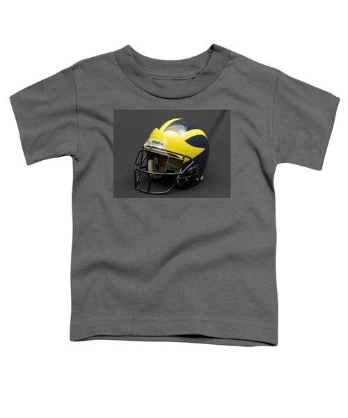 2000s Era Wolverine Helmet Toddler T-Shirt