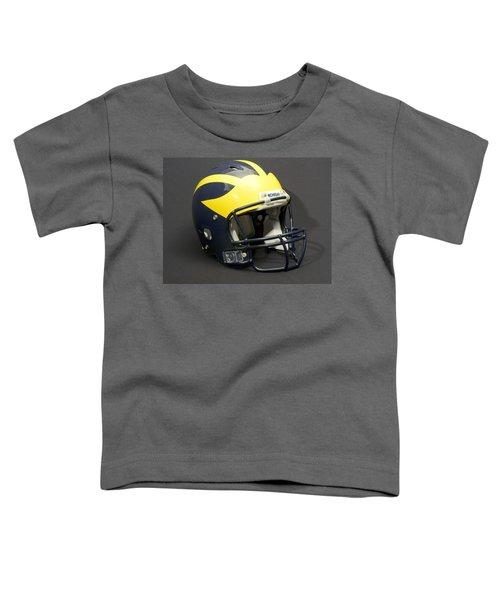 2000s Wolverine Helmet Toddler T-Shirt