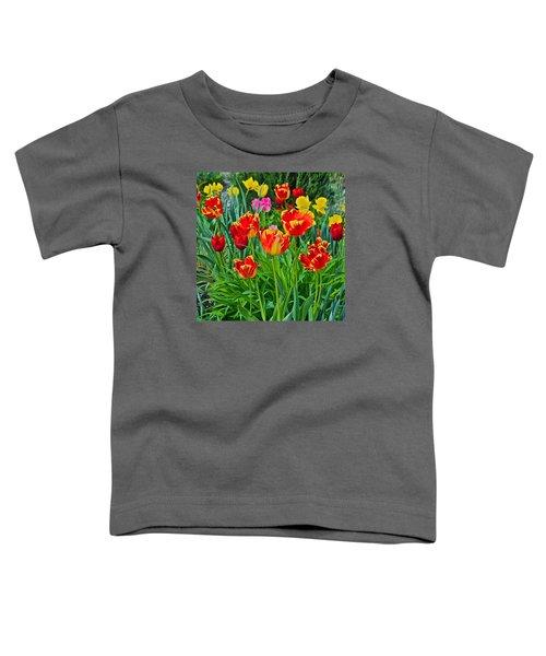 2015 Acewood Tulips 6 Toddler T-Shirt