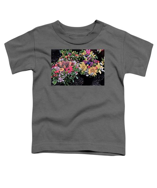 2015 Monona Farmers Market Flowers 1 Toddler T-Shirt