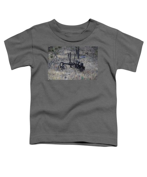 Old Farm Implement Lake George Co Toddler T-Shirt