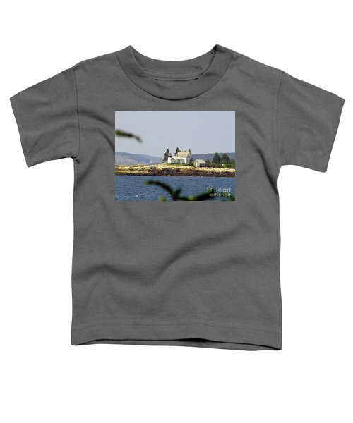 2015 Winter Harbor Light Toddler T-Shirt