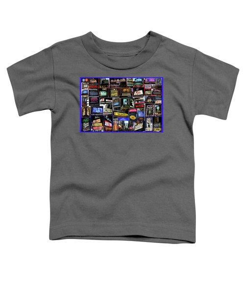 2016 Broadway Spring Collage Toddler T-Shirt