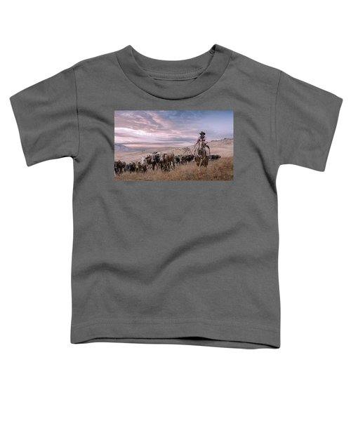 2016 Reno Cattle Drive Toddler T-Shirt
