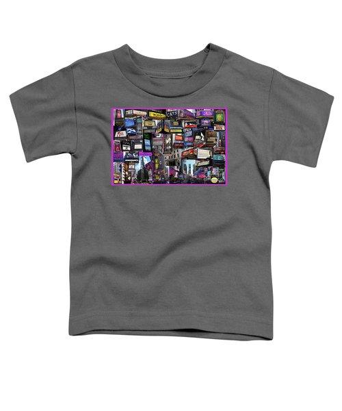 2017 Broadway Spring Collage Toddler T-Shirt
