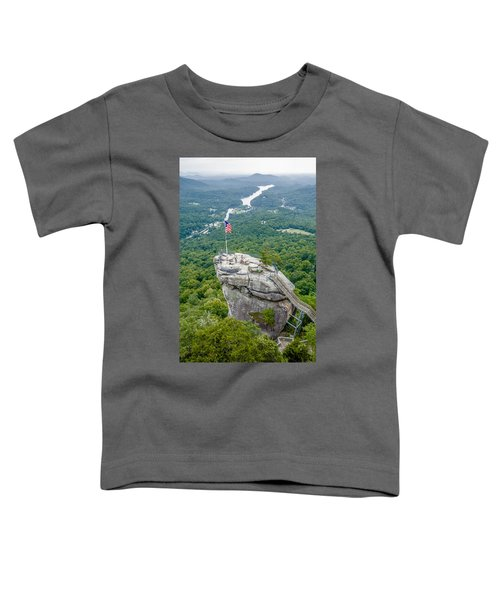 Lake Lure And Chimney Rock Landscapes Toddler T-Shirt