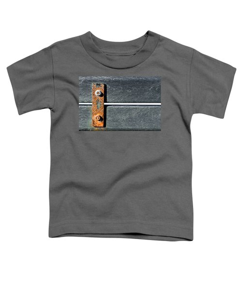 Rusty Metal Toddler T-Shirt