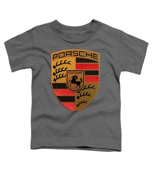Porsche Label Toddler T-Shirt