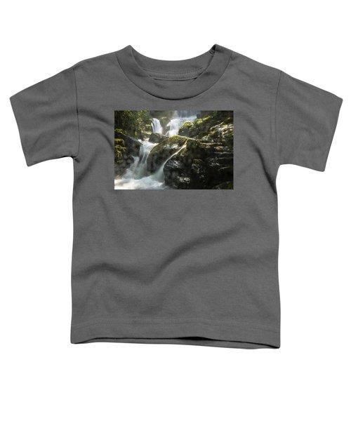 Waterfall Scenery Toddler T-Shirt