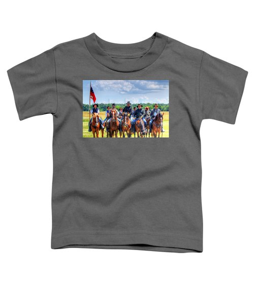 2nd Us Cavalry  Toddler T-Shirt