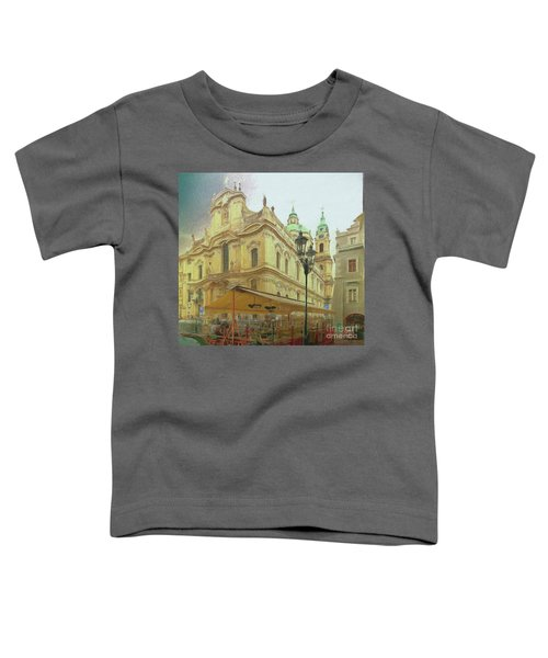 2nd Work Of St. Nicholas Church - Old Town Prague Toddler T-Shirt