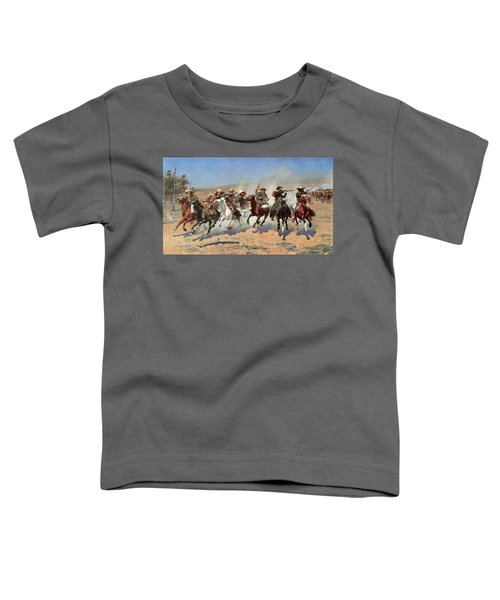 A Dash For The Timber Toddler T-Shirt
