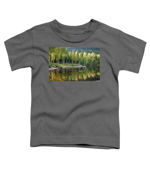 Birches And Reflection Toddler T-Shirt
