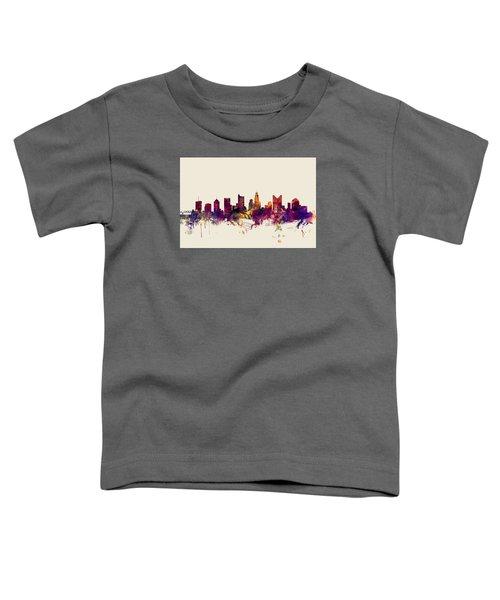 Columbus Ohio Skyline Toddler T-Shirt