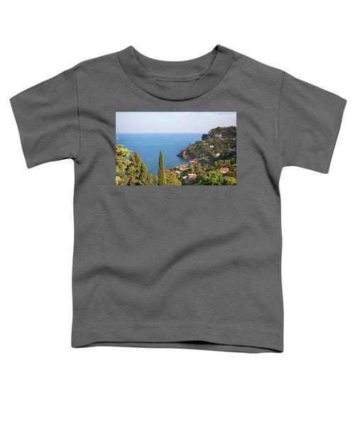 French Mediterranean Coastline Toddler T-Shirt