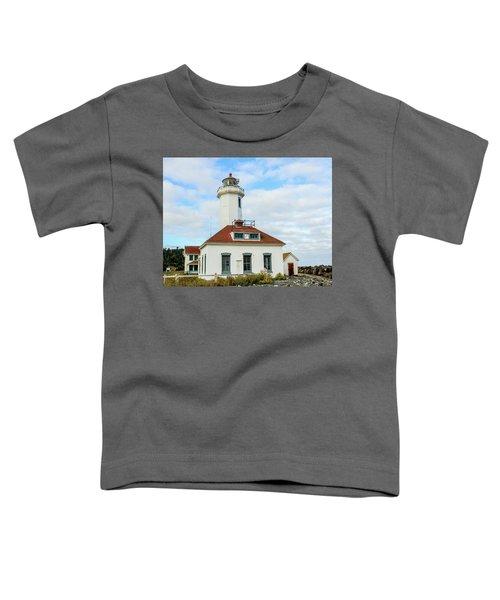 Point Wilson Lighthouse Toddler T-Shirt
