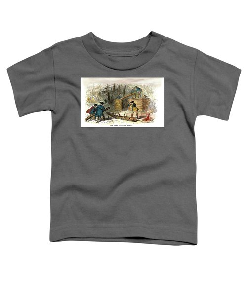 Valley Forge, Huts, 1777 Toddler T-Shirt