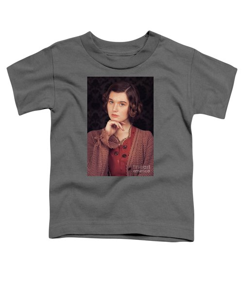Woman In Period Costume Toddler T-Shirt