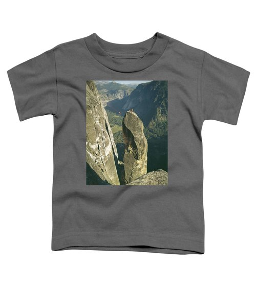 306540 Climbers On Lost Arrow 1967 Toddler T-Shirt