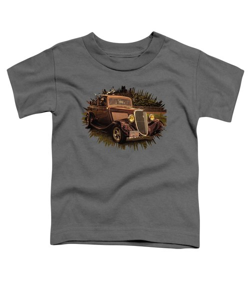 Cool 34 Ford Four Door Sedan Toddler T-Shirt