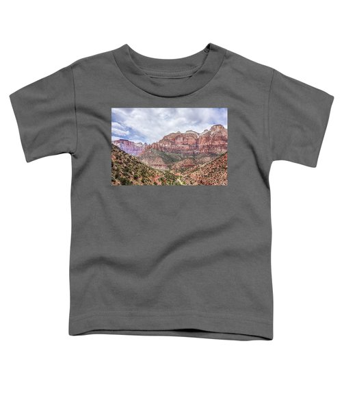 Zion Canyon National Park Utah Toddler T-Shirt