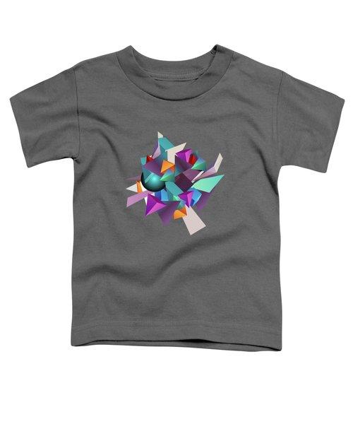 3d Geometric  Toddler T-Shirt
