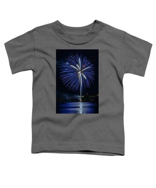 Fireworks Over Portland, Maine Toddler T-Shirt