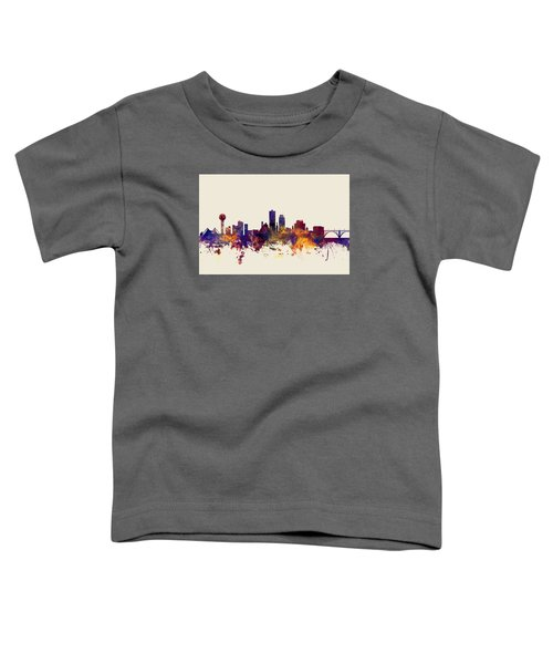 Knoxville Tennessee Skyline Toddler T-Shirt